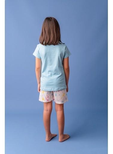 Zeyland Mavi Be Free şortlu Pijama Takımı (5-12yaş) Mavi Be Free şortlu Pijama Takımı (5-12yaş) Mavi